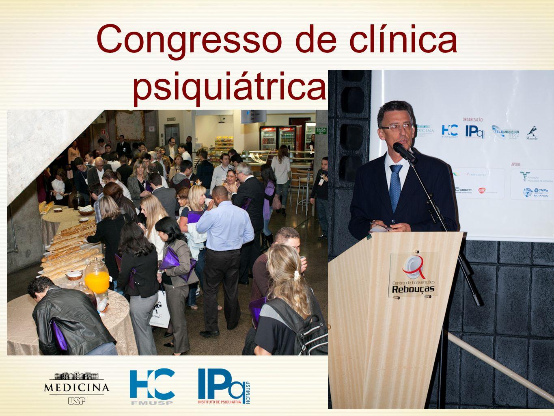 2 Congresso de clínica psiquiátrica 2011