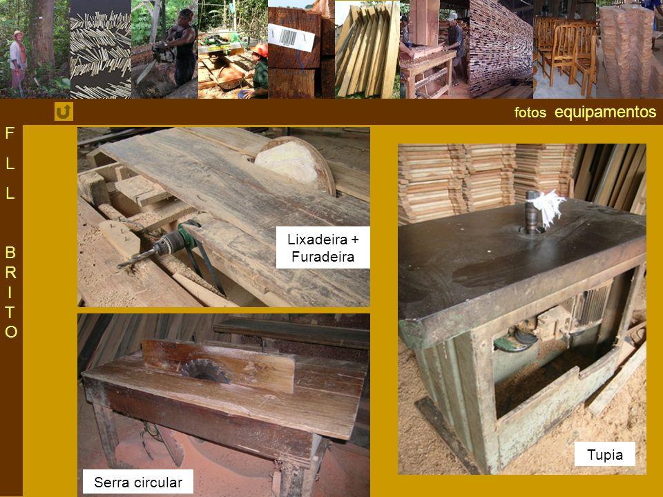 fotos equipamentos FLLBRITOFLLBRITO Lixadeira + Furadeira Serra circular Tupia