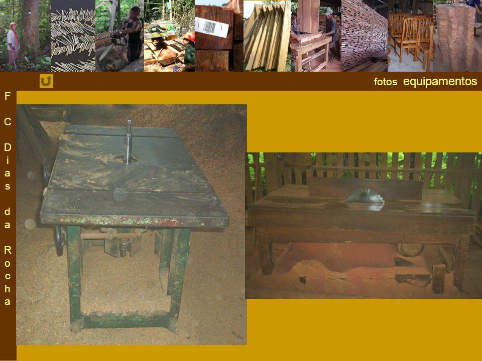 fotos equipamentos F C Dias da RochaF C Dias da Rocha