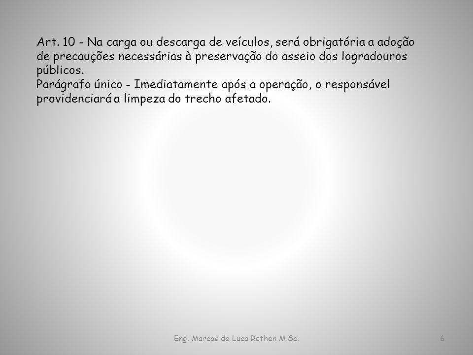 Eng.Marcos de Luca Rothen M.Sc.7 Art.