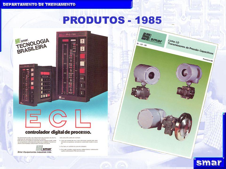 DEPARTAMENTO DE TREINAMENTO PRODUTOS - 1985