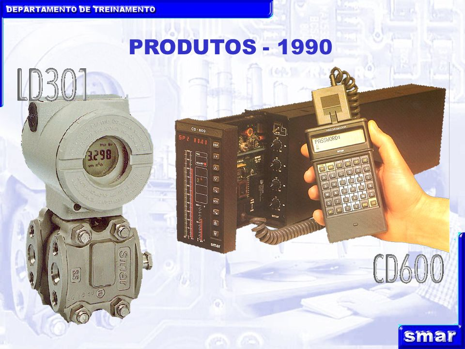 DEPARTAMENTO DE TREINAMENTO PRODUTOS - 1990