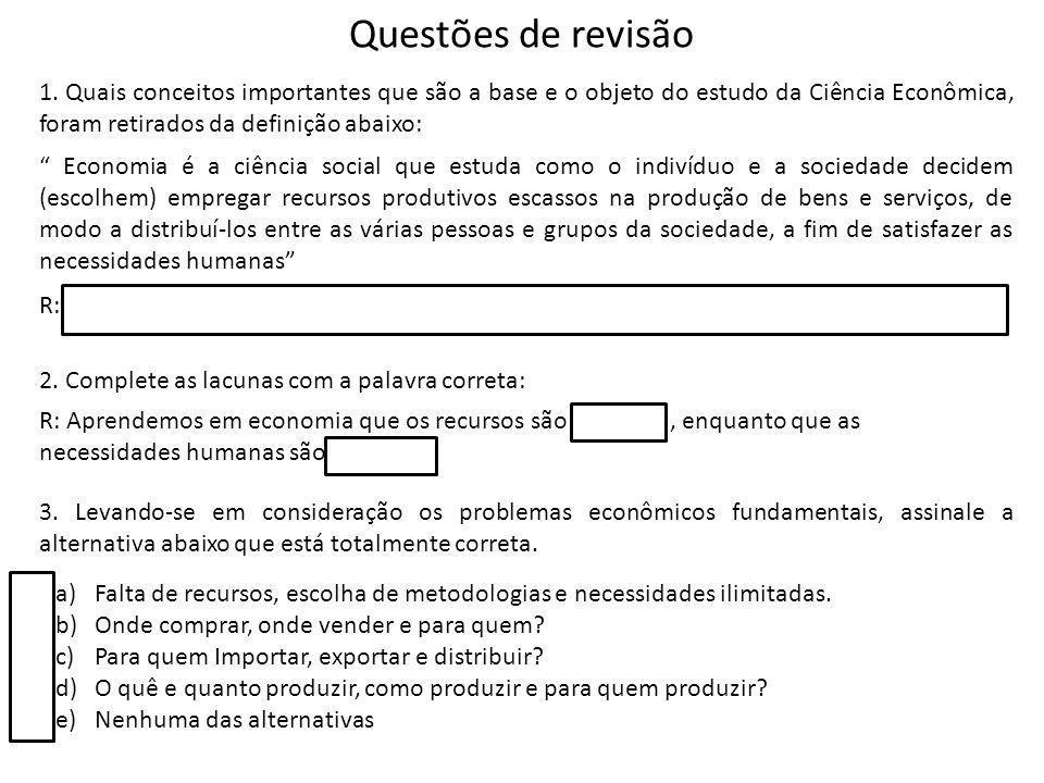 Questões de revisão 1.