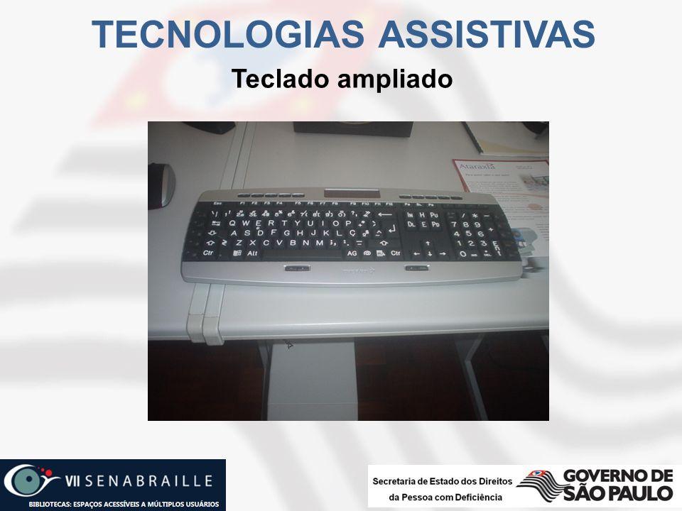 Teclado ampliado TECNOLOGIAS ASSISTIVAS