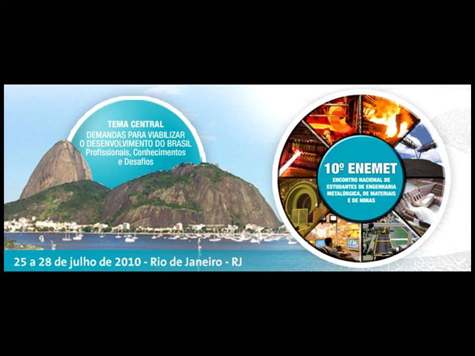 PROGRAMAÇÃO Finalmente... Aproveitem o Rio...