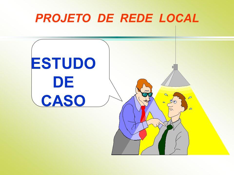 ESTUDO DE CASO PROJETO DE REDE LOCAL
