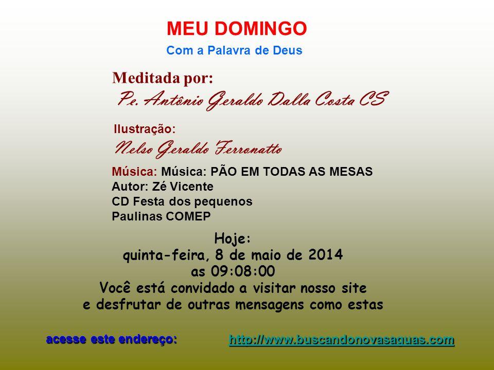Pe.Antônio Geraldo Dalla Costa CS 03.06.2010 - O que você FAZ na Missa.