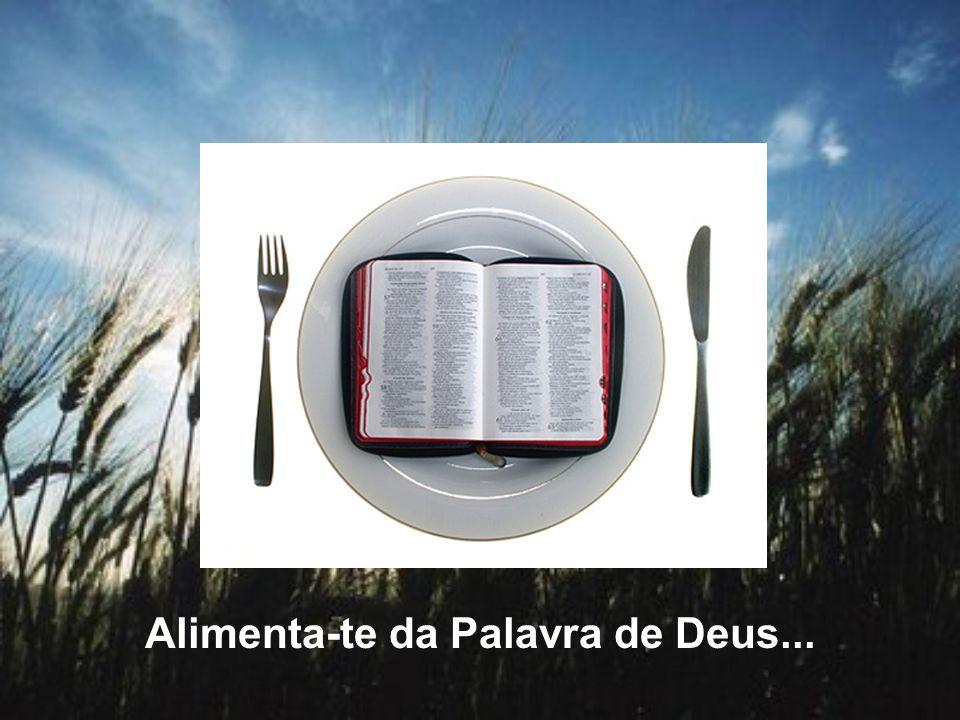 Alimenta-te da Palavra de Deus...