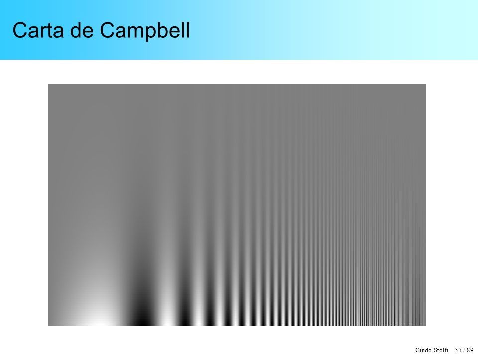 Guido Stolfi 55 / 89 Carta de Campbell