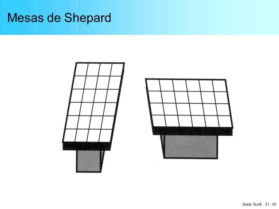 Guido Stolfi 85 / 89 Mesas de Shepard