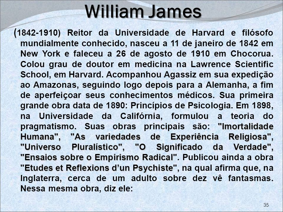 William James William James