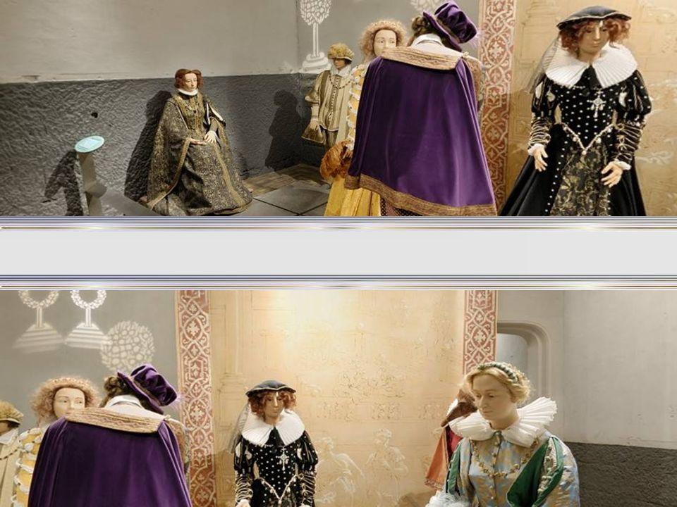 A Galeria das Damas é um museu de cera do Castelo de Chenonceau.