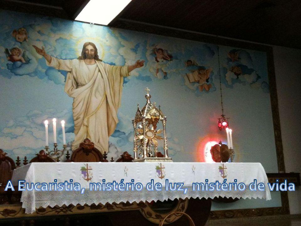 O encontro com Jesus na Eucaristia leva a Igreja e cada cristão a testemunhar, a evangelizar.