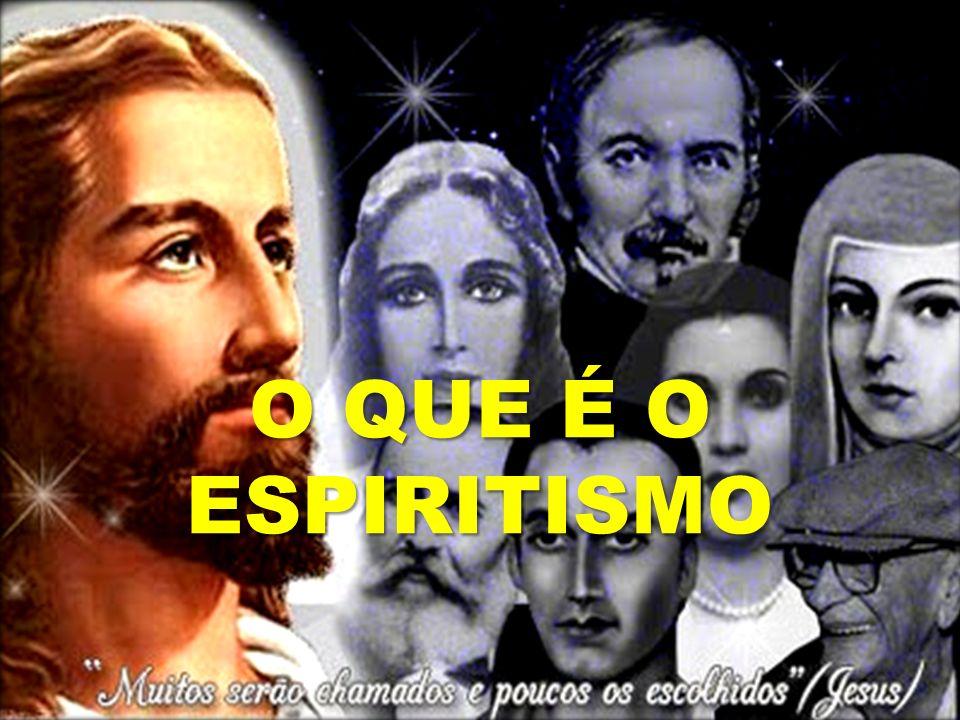 O Espiritismo E É a síntese do pensamento da humanidade, fruto do pensamento dos Espíritos e evolui com a evolução da humanidade.