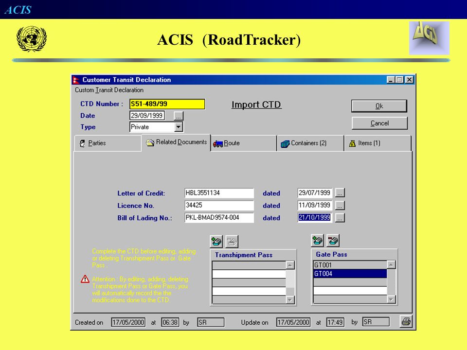 ACIS ACIS (RoadTracker)