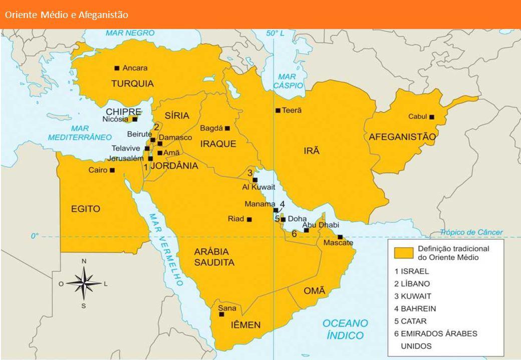 Oriente Médio e Afeganistão