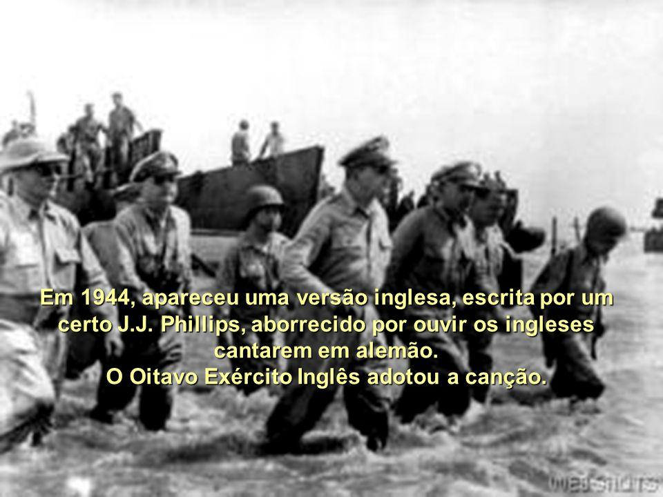 Após a ocupação alemã da Iugoslávia, o diretor de uma Rádio alemã sediada em Belgrado, o jovem tenente Karl- Heinz Reintgen começou a transmiti-la de novo, com grande agrado de Rommel.
