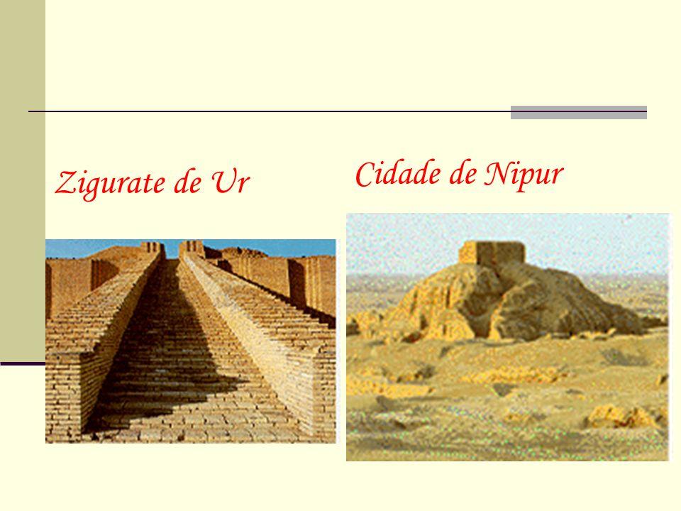 Cidade de Nipur Zigurate de Ur