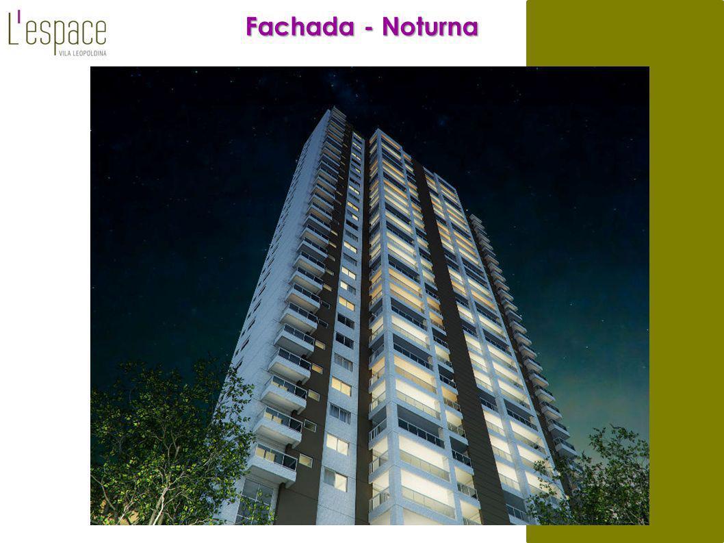 Fachada - Noturna