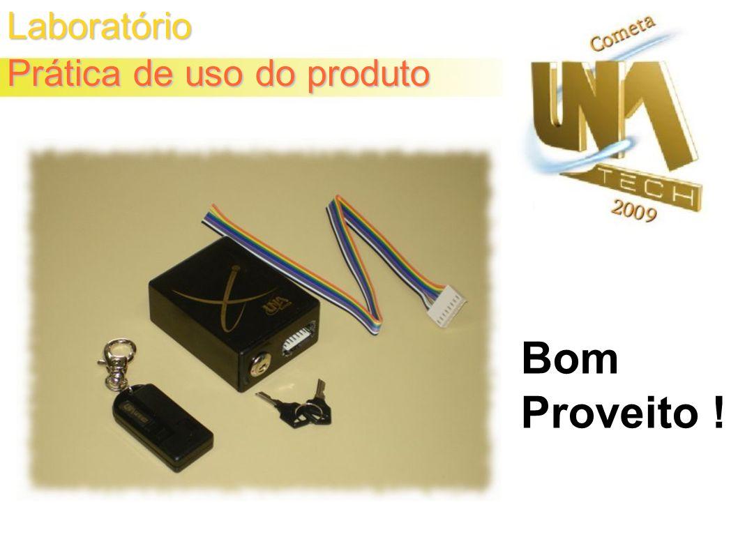 Laboratório Prática de uso do produto Bom Proveito !