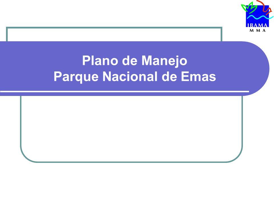 Plano de Manejo Parque Nacional de Emas