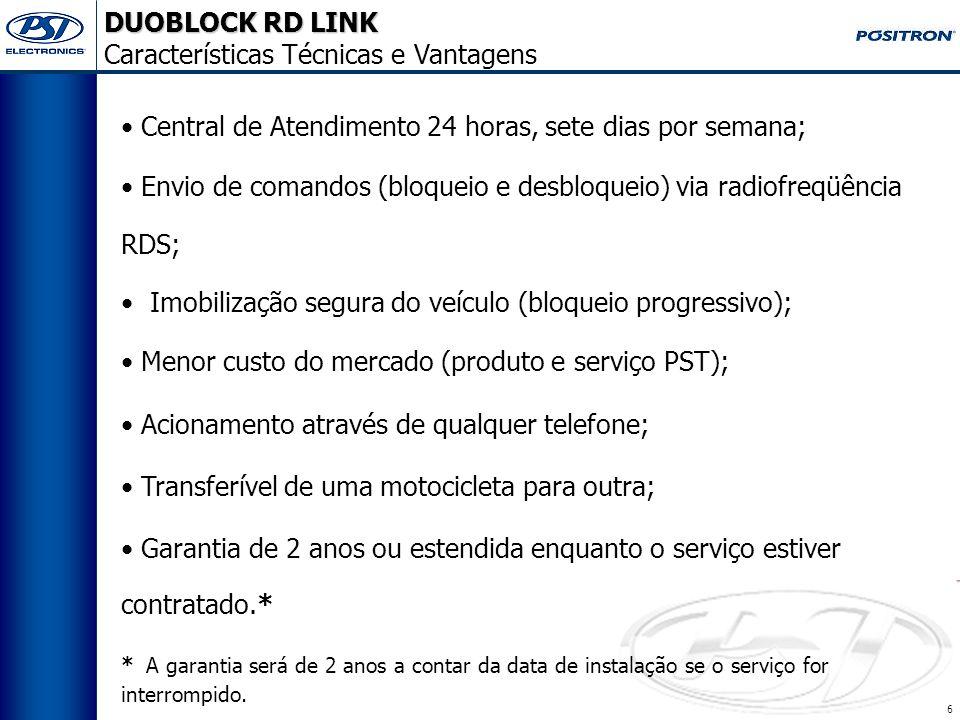 16 DUOBLOCK RD LINK Ferramentas Necessárias MULTÍMETRO ALICATE CRIMPADOR HT230C P/N 010194000 Itens vendidos no canal de suprimentos da Pósitron, Consulte seu representante.