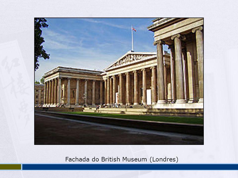 Fachada do British Museum (Londres)