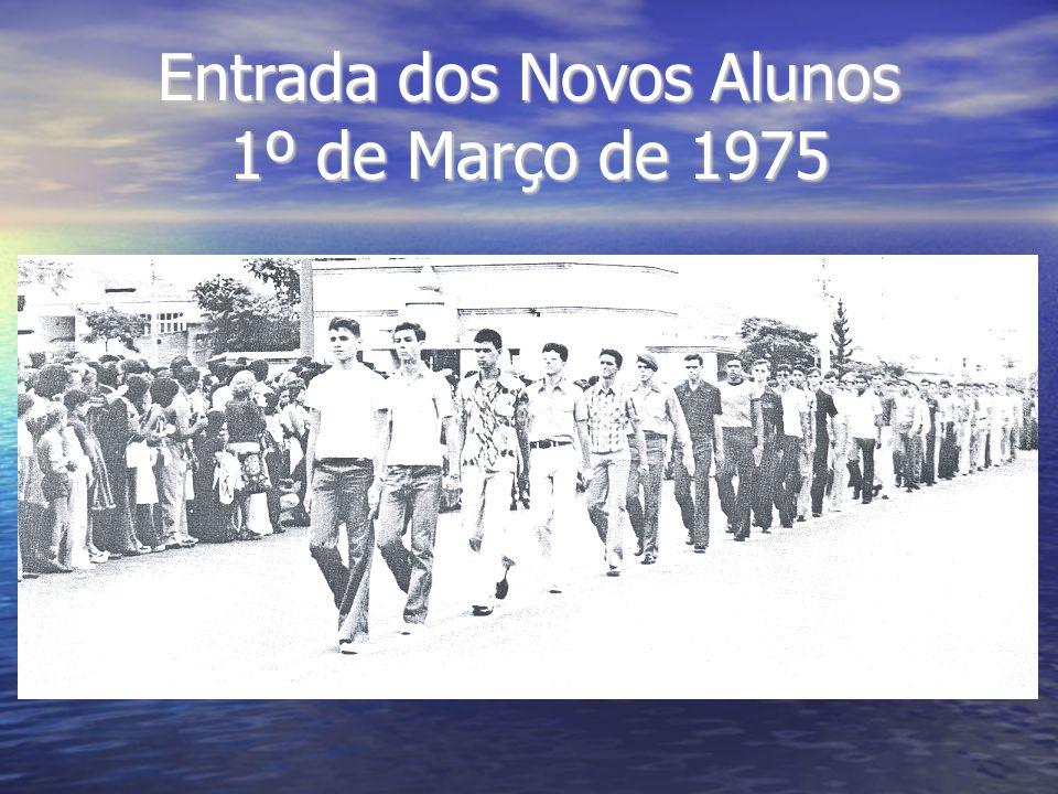 No dia 10 de dezembro de 1977, às 09:00 hs, os alunos da Turma Barão do Rio Branco recebiam o diploma de conclusão de curso.
