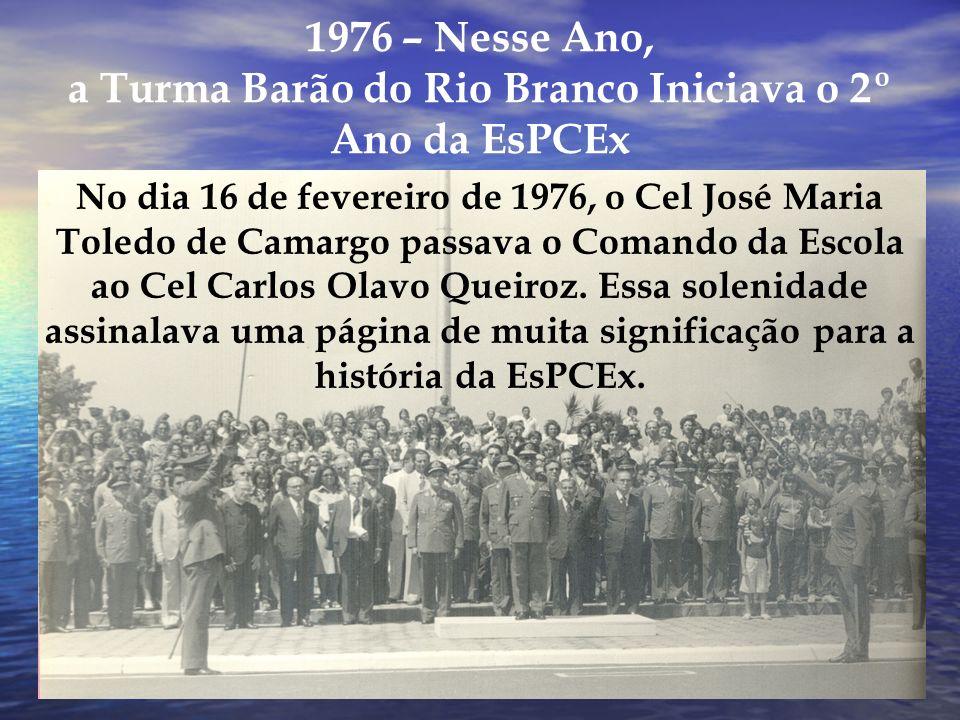 Nosso Segundo Comandante Cel Carlos Olavo Queiroz Guimarães (de 14 fevereiro de 1976 a 18 fevereiro de 1978)