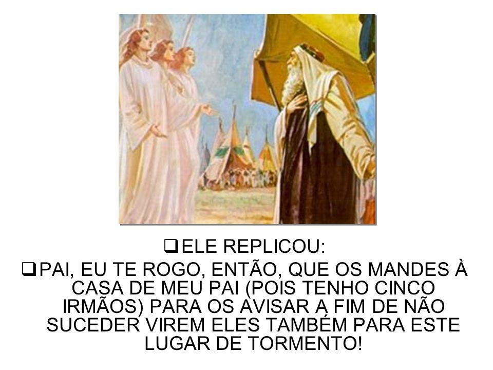 B) A TORTURA DO RICO É CONSEQÜÊNCIA DE UM PROFUNDO SENTIMENTO DE CULPA, O QUAL FAZ COM QUE ELE ESTEJA NUM INFERNO ;