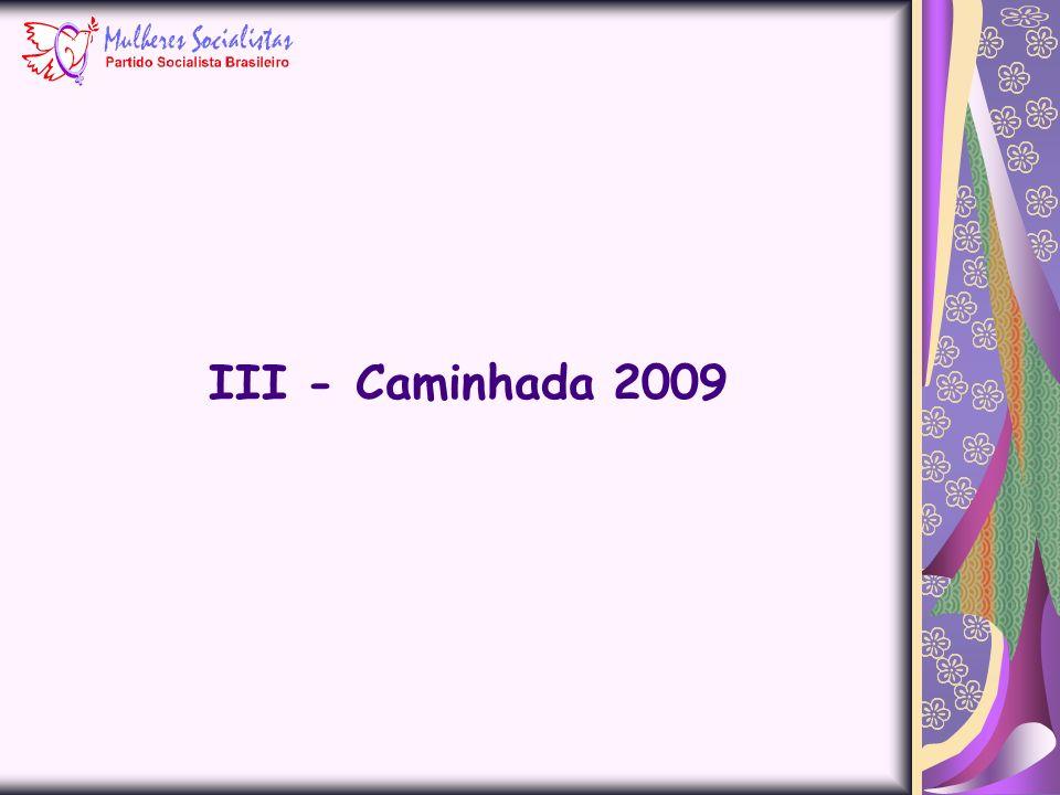 III - Caminhada 2009