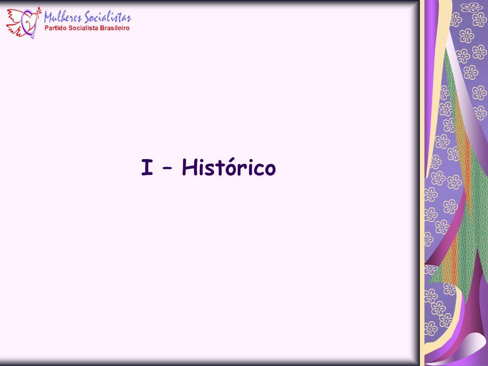 I – Histórico