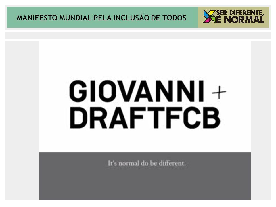 MANIFESTO MUNDIAL PELA INCLUSÃO DE TODOS