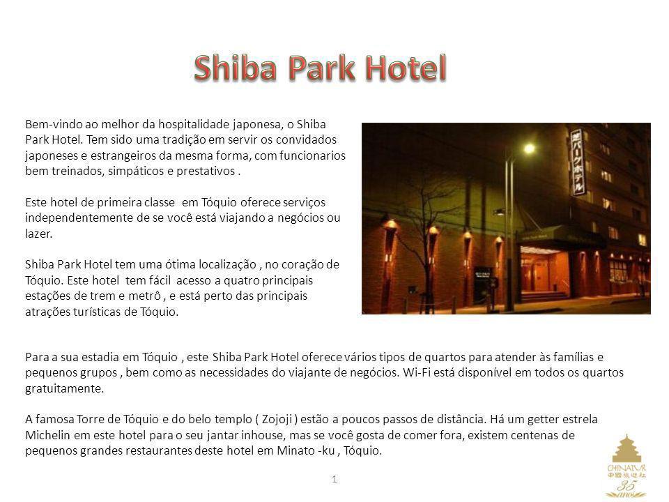 Para a sua estadia em Tóquio, este Shiba Park Hotel oferece vários tipos de quartos para atender às famílias e pequenos grupos, bem como as necessidad