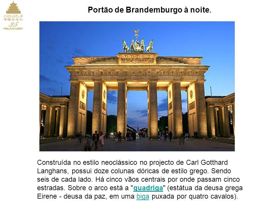 Berlim é a capital da Alemanha é a maior cidade do país com uma população de 3,4 milhões dentro de limites da cidade, além de ser a segunda mais popul