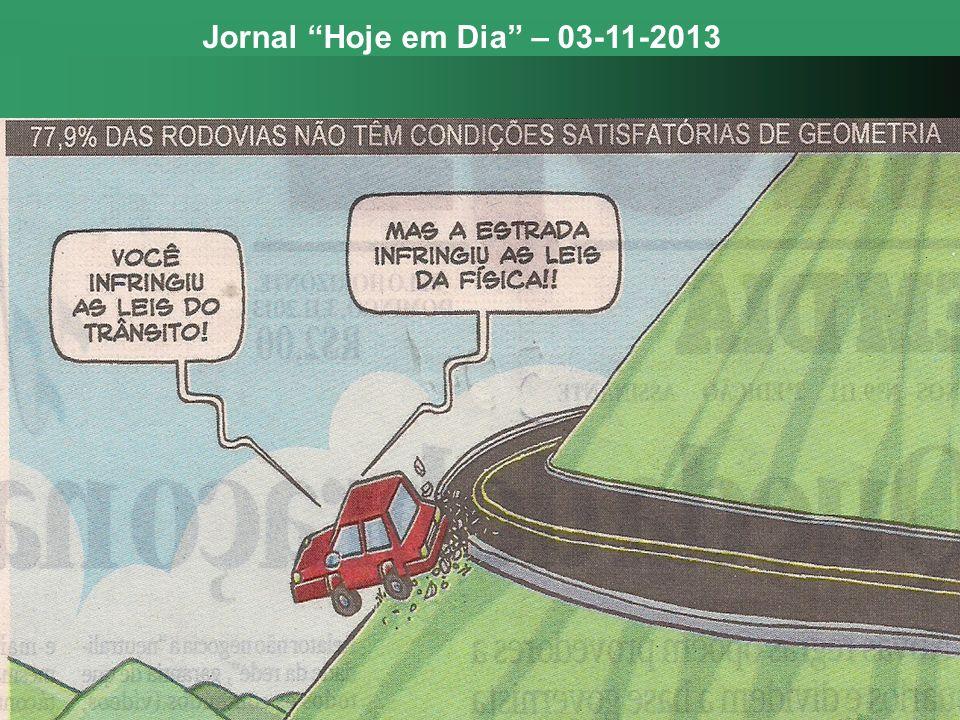 Jornal Hoje em Dia – 03-11-2013
