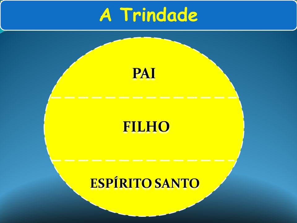 A Trindade PAI ESPÍRITO SANTO FILHO