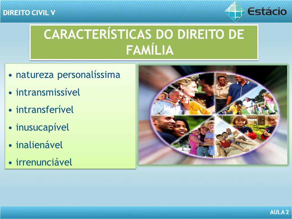 AULA 2 DIREITO CIVIL V AULA 2 DIREITO CIVIL V DIREITO ROMANO a família era organizada sob noções de autoridade e o poder concentrado na pessoa do pater familias.