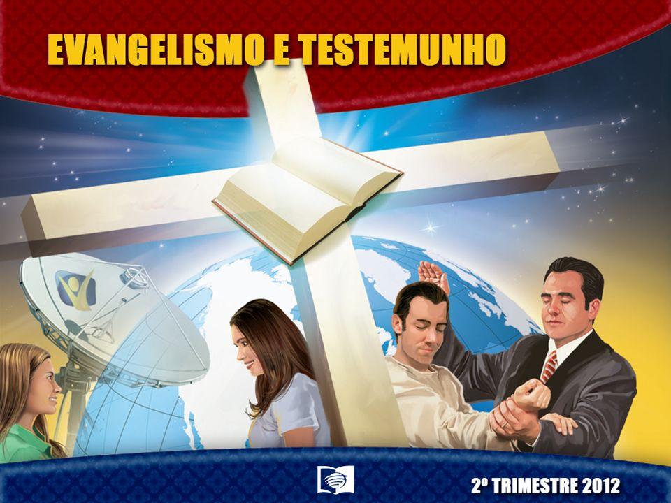 Pr. Sandro Santos Pastor do Distrito de Cianorte/PR, pertencente à Associação Norte Paranaense