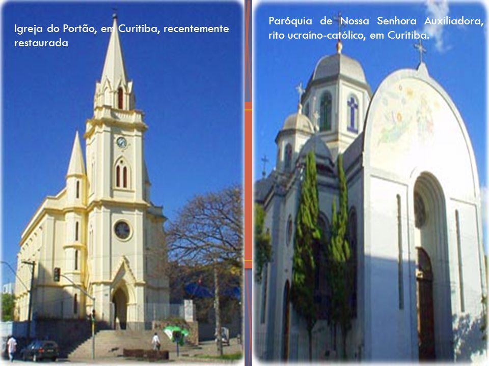 Paróquia de Nossa Senhora Auxiliadora, rito ucraíno-católico, em Curitiba.