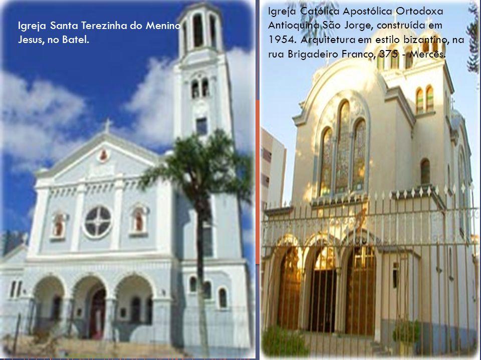 Catedral de São João Batista - Rito ucraíno-católico, no bairro de Água Verde, em Curitiba Paróquia do Senhor Bom Jesus do Cabral.