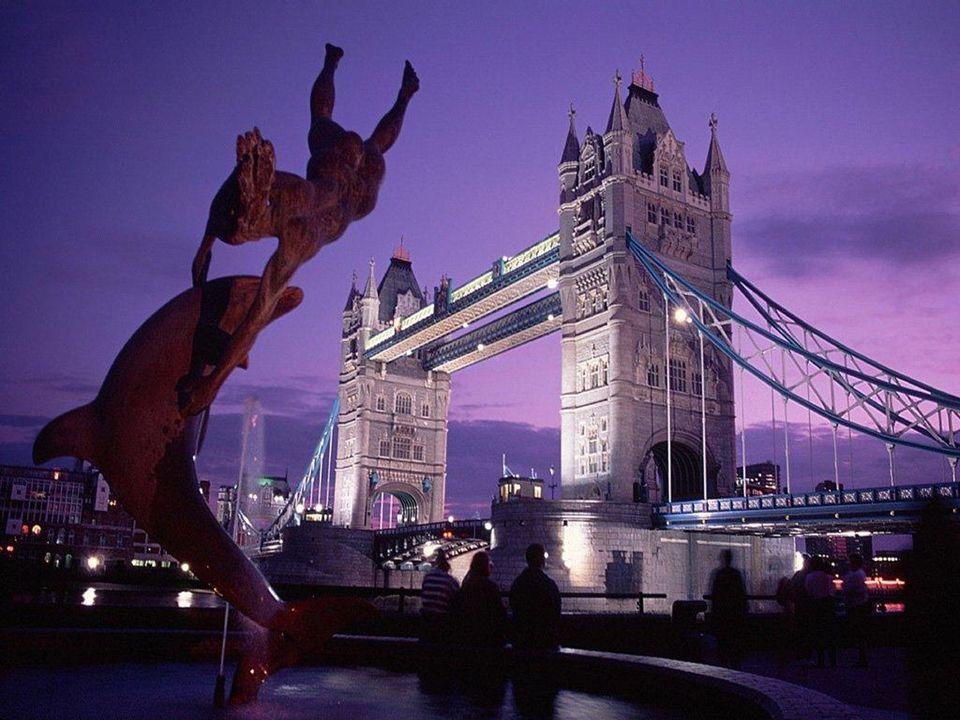 Ponte da Torre (Tower Bridge) - Londres, INGLATERRA