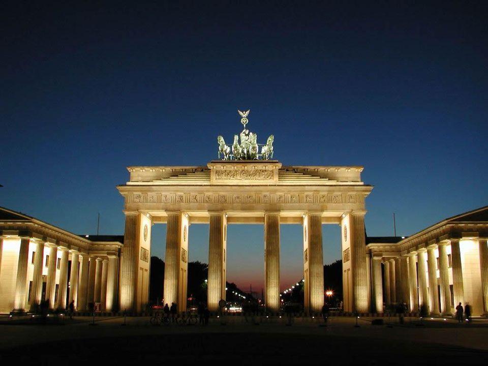 Portão de Brandeburgo - Berlim, ALEMANHA