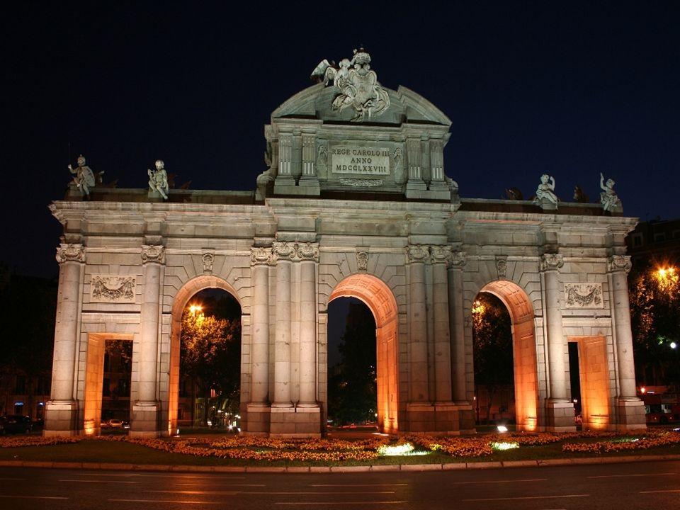 Portão delAlcalá – Madri, ESPANHA