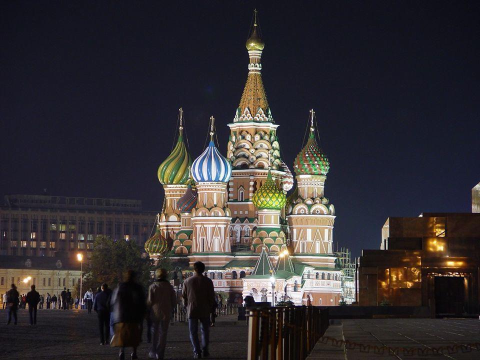 Catedral de São Basílio – Moscou, RÚSSIA