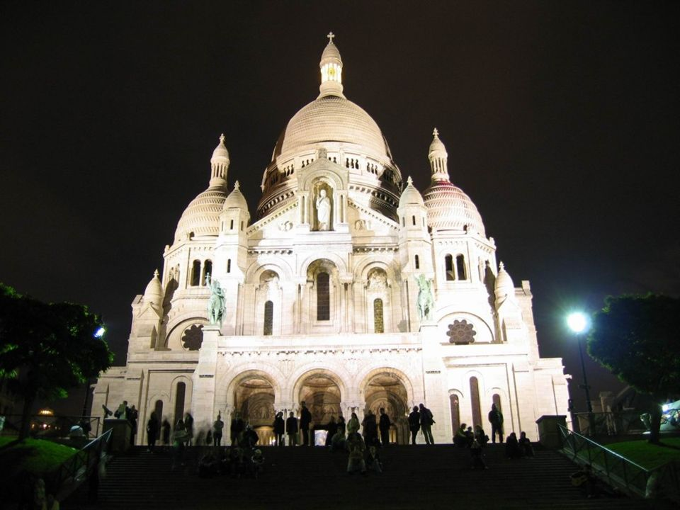Igreja do Sagrado Coração (Sacré Coeur) - Paris, FRANÇA