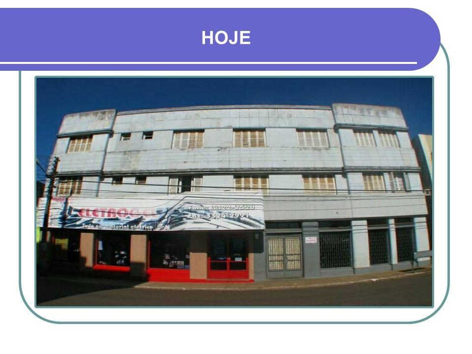 Década de 1940 - HOTEL CRUZ ALTA RUA PINHEIRO MACHADO