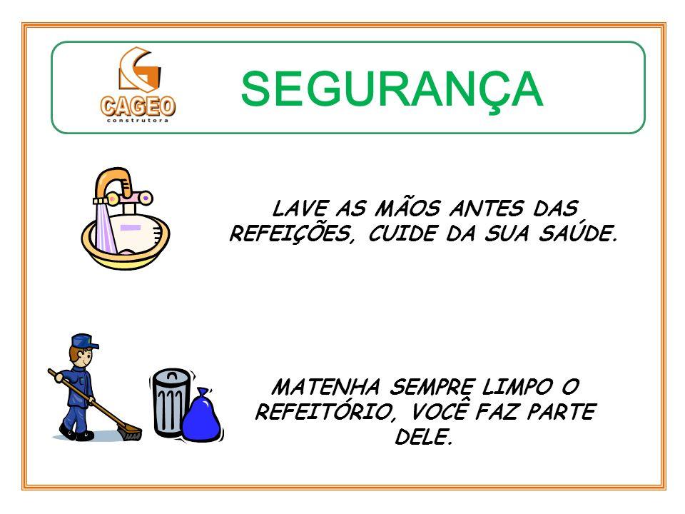 SEGURANÇA MATERIAL IMPRÓPRIO AO USO