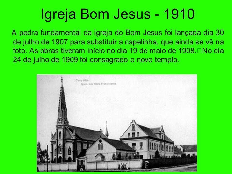 Colégio Bom Jesus O atual Colégio Bom Jesus tem sua origem na escola