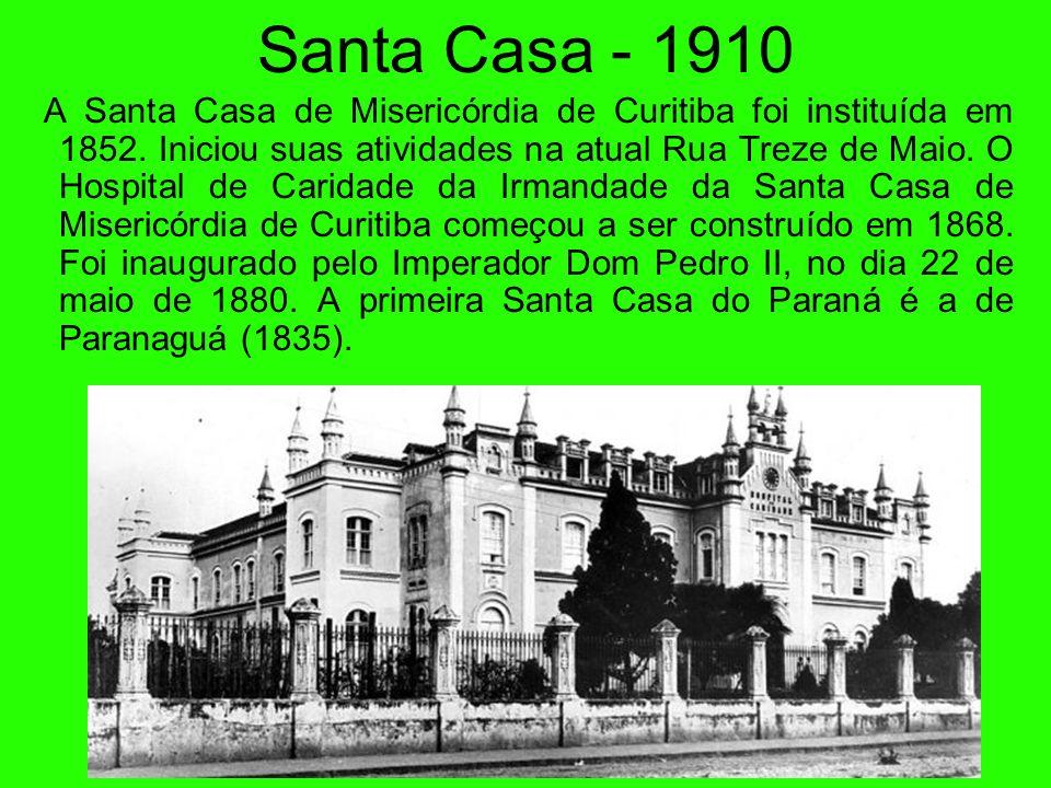 Igreja Bom Jesus - 1910 A pedra fundamental da igreja do Bom Jesus foi lançada dia 30 de julho de 1907 para substituir a capelinha, que ainda se vê na